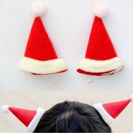 Wholesale Christmas hats headwear headdress Christmas hair jewelry Christmas Supplies girl