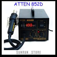 Cheap New Arrival 220V ATTEN 852D SMD Rework Station Desoldering Station Hot Air Gun