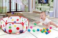 Wholesale cm Baby Kiddie Fabric Play Game Pit Ball Pool Children Playpens Playhouse Play Tent Toy tienda corralito teatro