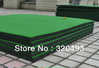 Wholesale golf training club pad normal thick mini exercise blanket mat Indoor golf Training device Golf practice device