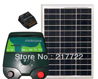Wholesale 2jouls electric fence energiser and solar panel kit
