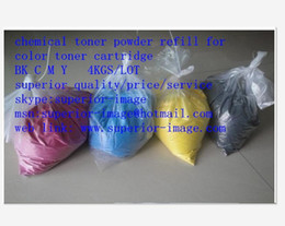 Wholesale HOT compatible used for Canon IRC2550 NPG35 chemical color toner powder K C M Y KG High quality