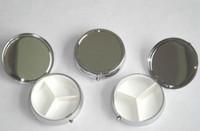 Wholesale Metal Pill Box Blank Box Factory Direct Sell Diameter cm