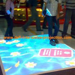 Wholesale Interactive floor system dancing floor D interactive projection display system