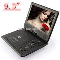 Wholesale quot TFT LCD Screen Degree Swivel Portable DVD EVD Player Good Gift for Children Friend Festival