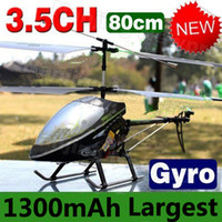 Cheap Free Shipping 80CM Large Big Double Horse 9101 Radio Remote Control Electric 3.5CH Metal RC Helicopter Gyro RTF DH9101