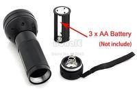 Cheap 5pcs Lot Wholesale Black Flashlight 51 UV LED Scorpion Detector Hunter Finder Ultra Violet Blacklight Torch Light Lamp TK1114