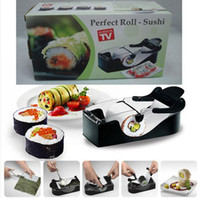 Cheap 1p Diy Easy Kitchen Perfect Magic Roll Sushi maker Cutter Roller Machine Gadgets sushi cooking tools sushi maker