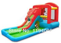 Wholesale Hot Sale Bouncy Doll House as Trampoline Castle whit Children s Slide of Outdoor Playground for Happy Hop with