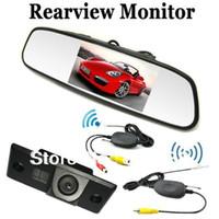 "Cheap 2.4G Wireless car kit 4.3"" Car Rear View Reverse Camera for PORSCHE CAYENNE VW Volkswagen SKODA FABIA POLO(3C) TIGUAN PASSAT"