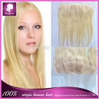 Cheap Wholesale price abibaba Brazilian hair lace frontal beautiful color #613 lace 13*4 free part lace frontal in large stork