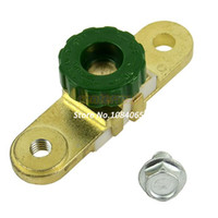 Wholesale Cheap Side Post Battery Master Disconnect Cut Off Switch Golden Green TK0488