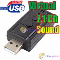Wholesale USB Mic Speaker CH Audio Sound Card Adapter