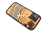 Cheap New Car Sun Visor Flip Storage CD DVD Holder 8 Disc Pocket Case Pen Glasses Clip Q0098F