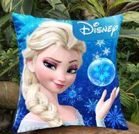 Wholesale 10pcs Frozen Princess Anna Elsa Pillows Double Side Mulity Patterns Pillow Case Cushion Case Can Choose Pattern Both Side H1352