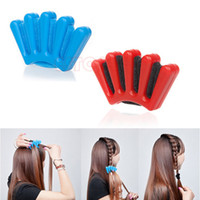 Wholesale N94 New Hair Braider Braid Stylist Sponge Plait hair Twist Styling Braiding Tool