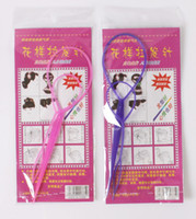 Wholesale Hairstyle Pattern maker hair needle set Pattern plate made needle Styling Tools