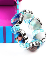 Hot frozen children' s bracelet, high quality handmade e...