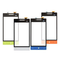 Wholesale Touch Screen Digitizer Glass For HTC Windows Phone S A620e Rio A620t A620d Tool White Green Red Blue