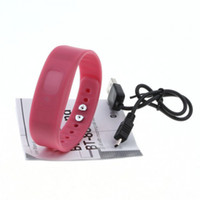 vibrating bracelet - New Arrival Bluetooth Incoming Call Vibrate Alert Alarm Anti lost Band Bracelet Device for cell phones COLORS PA1263