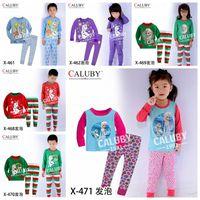 Wholesale Baby girls boys Frozen Pajamas Sets Kids Sleep suit Autumn winter Clothing Set New Sleep Casual Pyjamas pjs melee