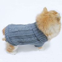 Wholesale Details about Fancy Pet Dog Puppy Pullover Knitwear Sweater Soft Clothes For Small Dog