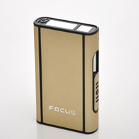 Wholesale Aluminum Cigarette Case Holder Box for Cigarettes G00504