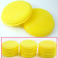 car cleaning sponge - 12 Polish Wax Foam Sponges Pads for Clean Car Vehicle
