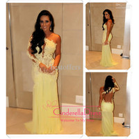 Cheap Reference Images sexy prom dresses Best High Neck Lace 2014 prom dresses