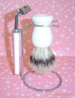 Wholesale Razor set Men SHAVING beard brush set manual razor kit razor shaving brush