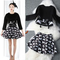 Women Long Maxi Dress Cat Print Fashion Summer Robe Women's Clothing & Accessories Desigual Celebrity