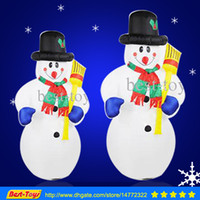 inflatable christmas - Christmas men Hotel supermarket mall decorations Inflatable toy m inflatable snowman Santa Claus