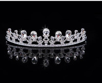 Wholesale LM Hot Sale New Wedding Crown Combs Wedding Bridal Tiara Jewelry Crystal Hair Ornaments Wedding Dress Accessories