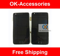 s2 i9100 - 4 Inches LCD Touch Screen Digitizer For Samsung Galaxy S2 i9100 With Frame Original Quality PC