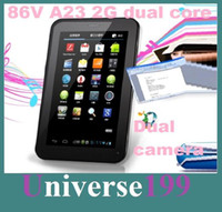 Cheap Wholesale - Cheap 7 Inch 86V A23 Dual core 2G GSM Phone Sim Calling Tablet Phablet PC Android 4.2 4GB 512M RAM Dual Camera Wifi