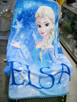 Wholesale 2015 NEW cm good quality Raschel Blanket princess cartoon anime raschel blanket