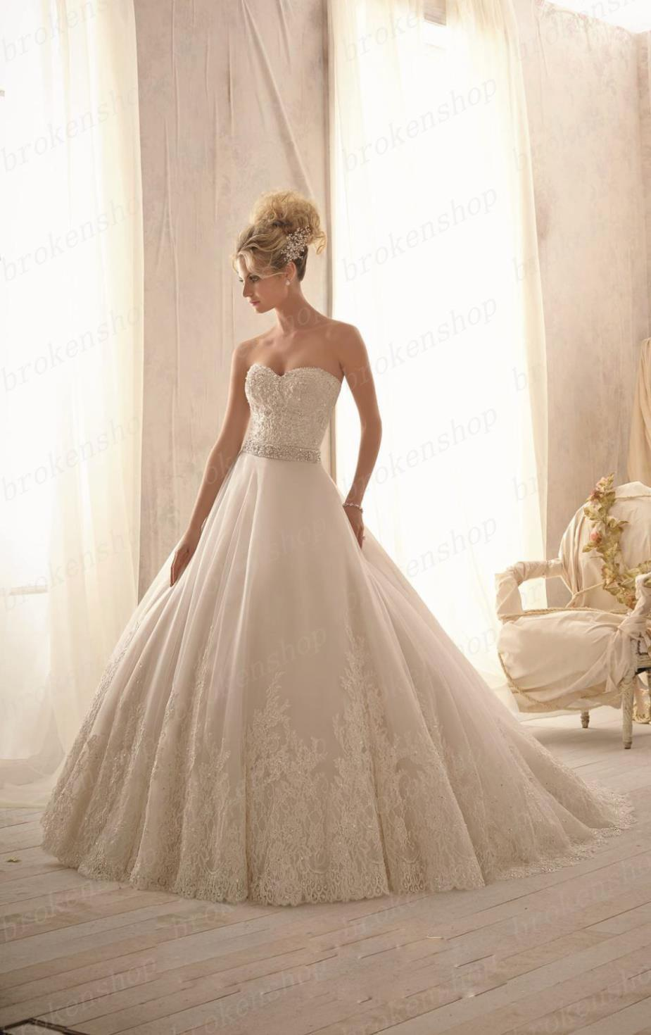 High End Fashion New Ball Gown Wedding Dresses 2014 Concise Dresses Restoring Ancient Ways Sexy ...