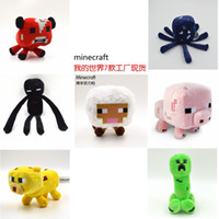 Minecraft Enderman creeper Mooshroom sheep squid cow pink do...
