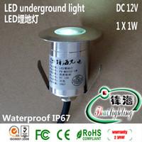 Wholesale led underground lamp buried lights floor lamps outdoor garden light Landscape lamp W V