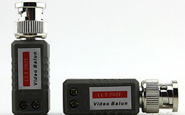 Vidéotransmission en Ligne-Video Balun Transmission vidéo sur CAT5 CCTV Passive / 1 channe Transeceiver emballage blister