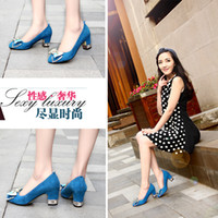 Cheap Free Shipping Genuine Leather Sex Women Platform High Heels Shoes New Design Nice Ladies High Heel Shoes Girls High Heel Shoes
