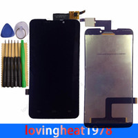 Wholesale 5 free DHL shipping LCD display with tools For ZTE Grand memo Boost MAX N5 U5 N9520 V9815 LCD screen with Touch Screen digitizer