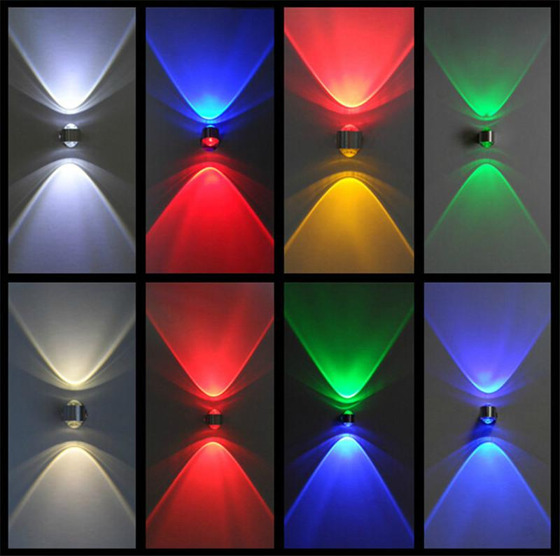 Led wall lamps novelty wall lights led 2w wall light indoor ambient light sconces decor lights - Wall decoration lights ...