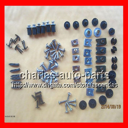 Wholesale Fairing Screw Bolts Kit black For HONDA CBR900 CBR893RR CBR RR CBR893 RR Fairings Bolts Screws