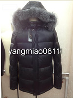 Wholesale Men s Winter Warm Wadded Jacket Faux leather down Coat Winter Slim russia style Casual Detachable Fur collar and cap thick warm Outwear1307