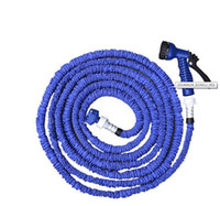Cheap Water Garden Hose Pipe tube Original100FT 75FT 50FT 25FT Expandable Flexible Scalable with EU US version Nozzle Sprayers free shipping