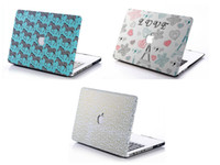 Wholesale Retro UK British US Flag Matte Hard Case Cover Protector Shell for Apple Macbook Air Pro with Retina inch Laptop Crystal Cases