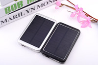 Wholesale Cell phone chargers mA enough solar mobile power Solar Charger achieve high efficiency charging easy to use
