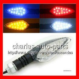 Wholesale 2X15LED Turn Signals Lights For YAMAHA YZF R1 YZF R1 YZFR1 R YZF1000 YZF Flashers Indicators Blinker