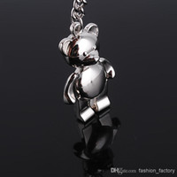 promotonal - Hollowed Key Rings Lover Bear Metal key Chain Key Ring Promotonal Products Car key ring pc